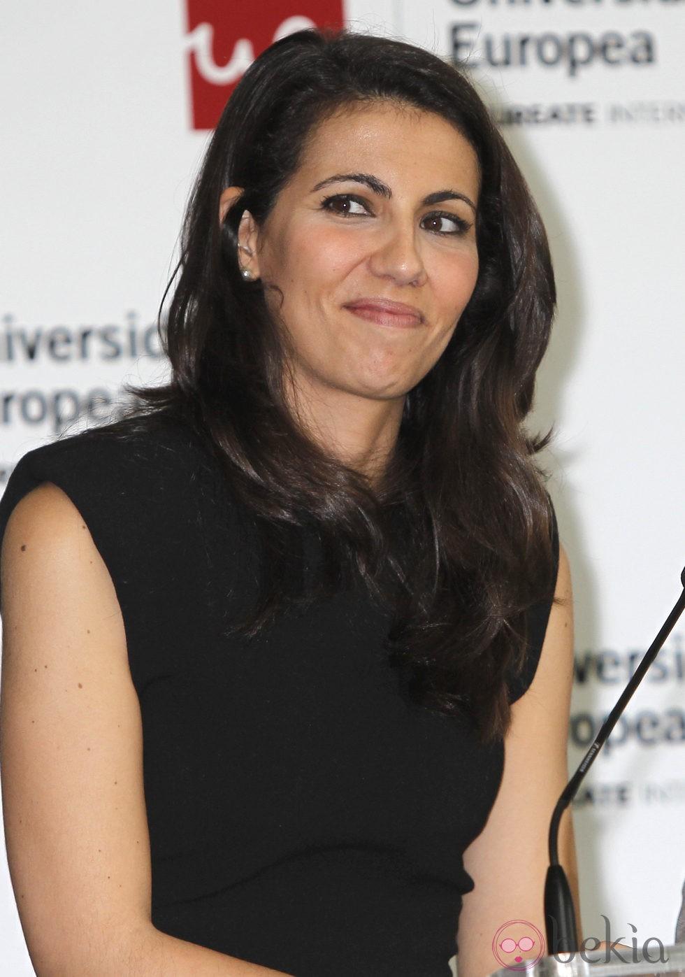 Ana Pastor en la entrega de los Premios Jóvenes Emprendedores