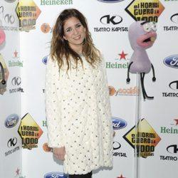 Lucía Jiménez en la celebración de los 1000 programas de 'El Hormiguero'