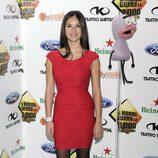 Paula Prendes en la celebración de los 1000 programas de 'El Hormiguero'