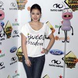 Giselle Calderón en la fiesta de celebración de los 1000 programas de 'El Hormiguero'