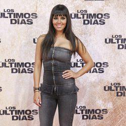 Cristina Pedroche en el estreno de 'Los últimos días'