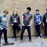 Dani, Carlos, Álvaro, Blas y David forman el grupo Auryn