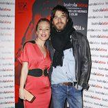 Silvia Marty y Alfonso Bassave en el estreno de 'El intérprete'