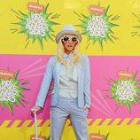 Ke$ha en la alfombra roja de la 26 edición de los premios Nickelodeon