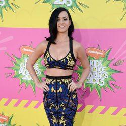Katy Perry en la alfombra roja de la 26 edición de los premios Nickelodeon