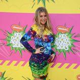 Fergie en la alfombra roja de la 26 edición de los premios Nickelodeon