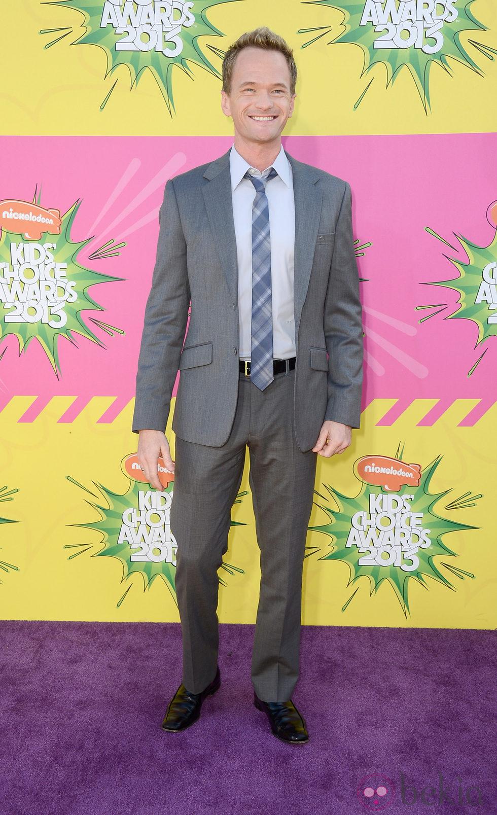 Neil Patrick Harris en la alfombra roja de la 26 edición de los premios Nickelodeon