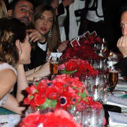 Carlota Casiraghi y Gad Elmaleh, muy cómplices en el Baile de la Rosa 2013