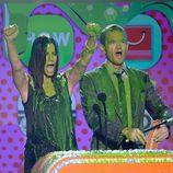 Sandra Bullock y Neil Patrick Harris en los Nickelodeon's Kids' Choice Awards 2013