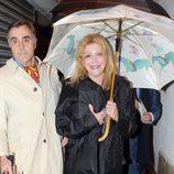 La Baronesa Thyssen disfruta de la Semana Santa de Málaga 2013 con Manolo Segura