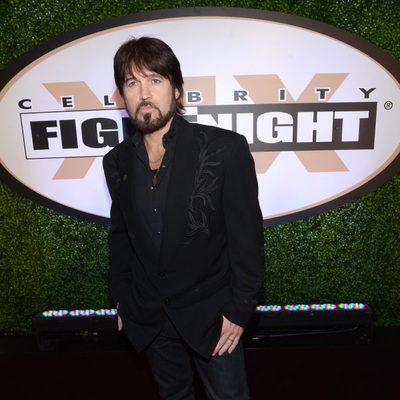 Billy Ray Cyrus en la Celebrity Fight Night 2013