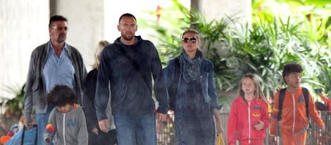 Heidi Klum con Martin Kristen y sus hijos de vacaciones en Hawai