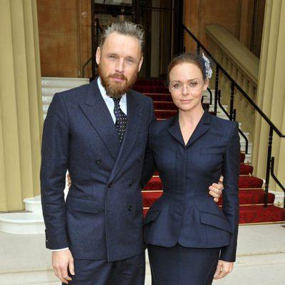Stella McCartney y su marido Alasdhair Willis