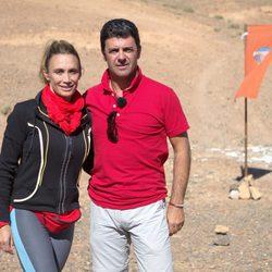 Cristina Sánchez y Alejandro Da Silva, el equipo rojo de 'Expedición imposible'