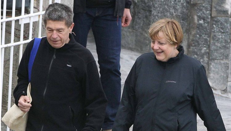 Ángela Merkel y su marido Joachim Sauer pasan la Semana Santa 2013 en Ischia