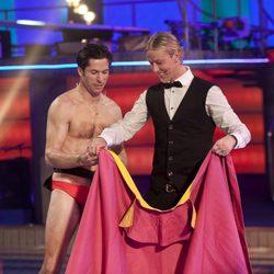 Canales Rivera invita a torear a Guti en 'Splash!, Famosos al agua'