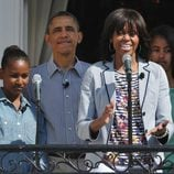 Barack y Michelle Obama celebran la Pascua 2013 con sus hijas Malia y Sasha