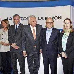Javier Arenas y los ministros de Mariano Rajoy en 'La Razón... de Montoro'