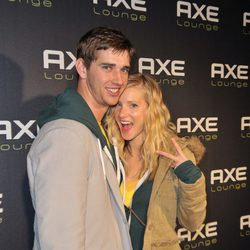 La actriz de 'Glee' Heather Morris y su novio Taylor Hubbell