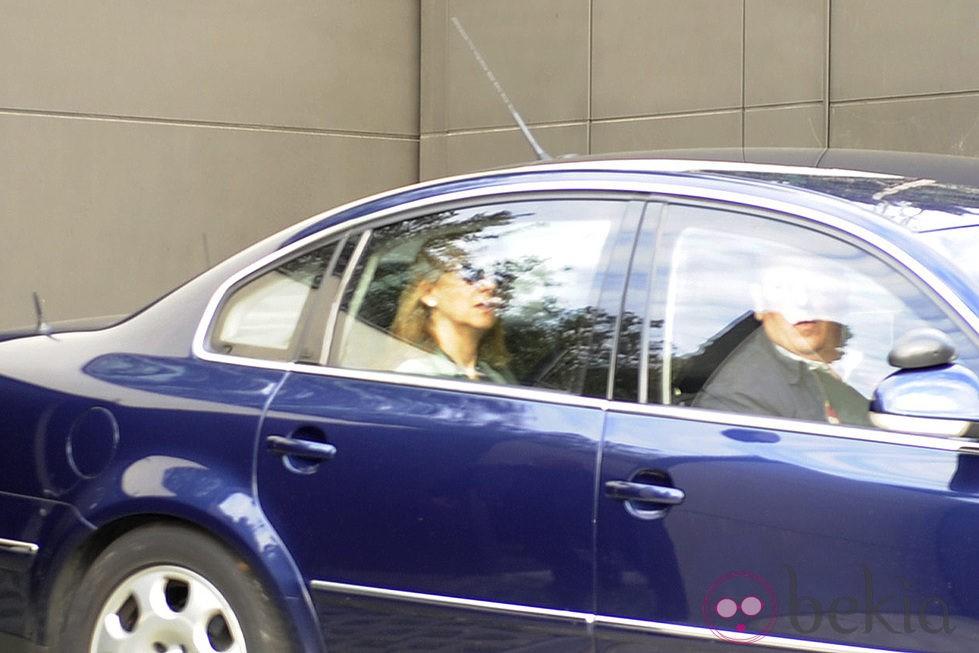 La Infanta Cristina va a trabajar un dia después de su imputación