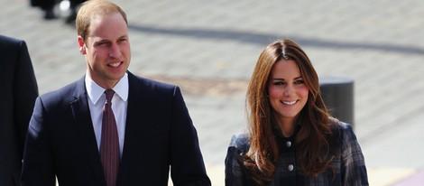 Los Duques de Cambridge en Glasgow