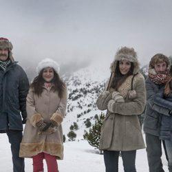 Eduardo Blanco, Carmen Machi, Verónica Echegui, Iván Massagué y Leticia Dolera en 'Kamikaze'