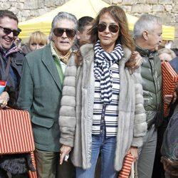 Jaime Ostos y Mari Ángeles Grajal en la corrida de primavera de Brihuega