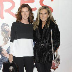 Verónica Mengod y Susana Uribarri en el estreno de 'Tres'