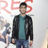Israel Rodríguez en el estreno de 'Tres'