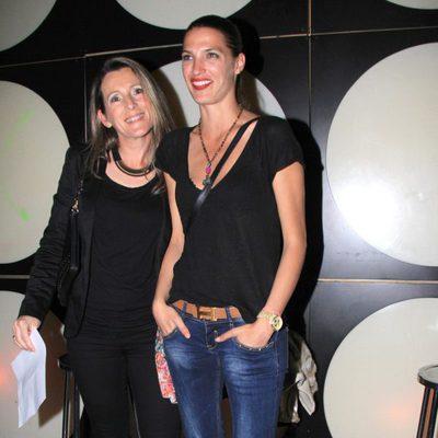 Laura Sánchez en un concierto de David Ascanio en Sevilla