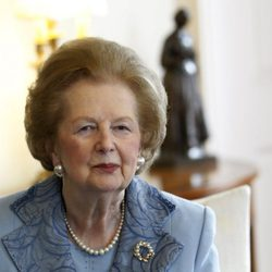 La exprimera ministra de Reino Unido Margaret Thatcher