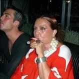 Sara Montiel disfrutando de uno de sus mayores placeres