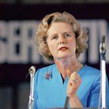 Margaret Thatcher en un discurso de 1975