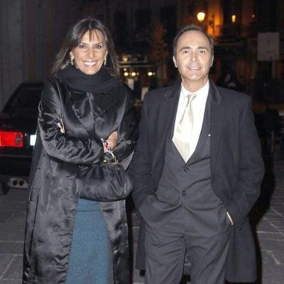 Pastora Vega y Juan Ribó en los Premios Valle-Inclán de Teatro 2013
