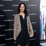 Ana Torrent en la inauguración de una tienda de Armani en Madrid