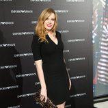 Carolina Bang en la inauguración de una tienda de Armani en Madrid