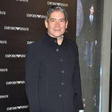 Boris Izaguirre en la inauguración de una tienda de Armani en Madrid
