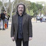 Luis Cobos en el entierro de Sara Montiel en Madrid