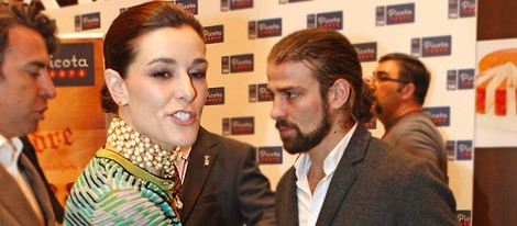 Raquel Sánchez Silva y Mario Biondo en la entrega del Premio Excelencia Picote Valle del Jerte