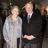 María Galiana y Juan Echanove en la presentación del libro de Espartaco