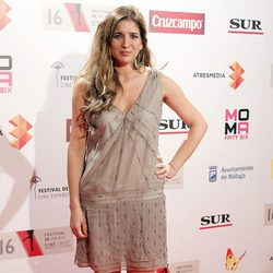 Lucía Jiménez en la presentación del Festival de Málaga 2013