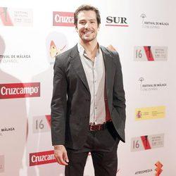 Alejandro Albarracín en la presentación del Festival de Málaga 2013
