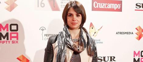 Elena Furiase en la presentación del Festival de Málaga 2013