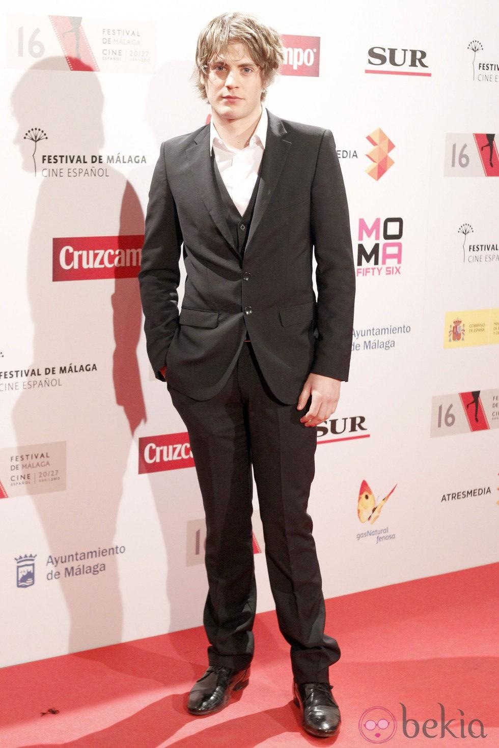 Jaime Olías en la presentación del Festival de Málaga 2013