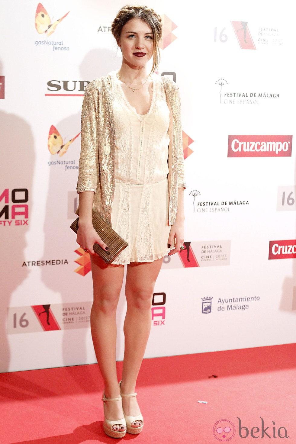 Andrea Guasch en la presentación del Festival de Málaga 2013