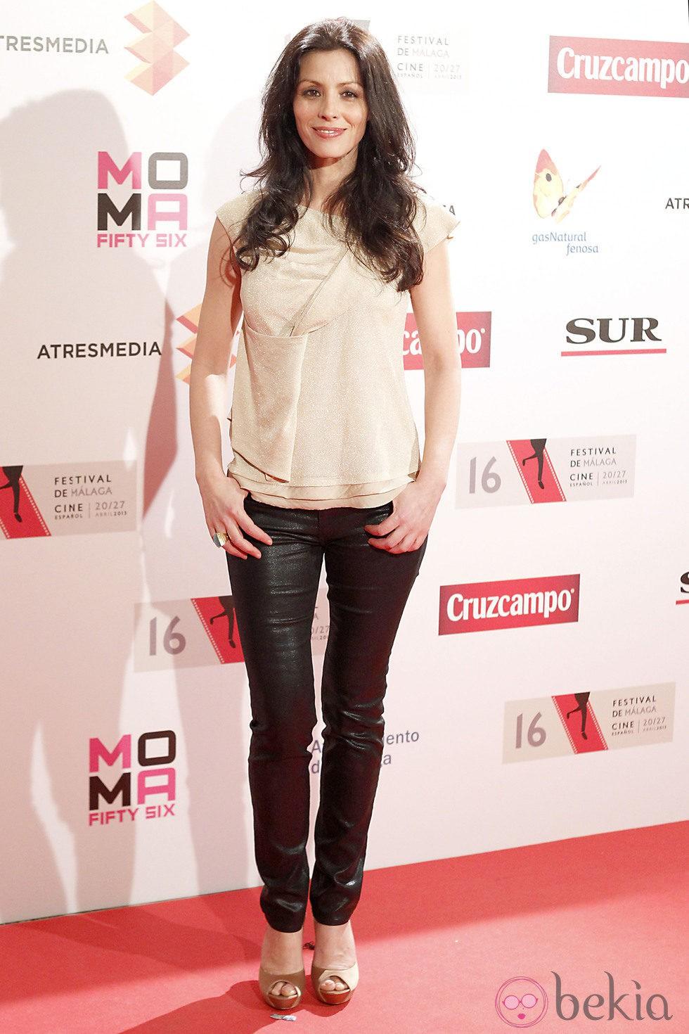 Ana Álvarez en la presentación del Festival de Málaga 2013