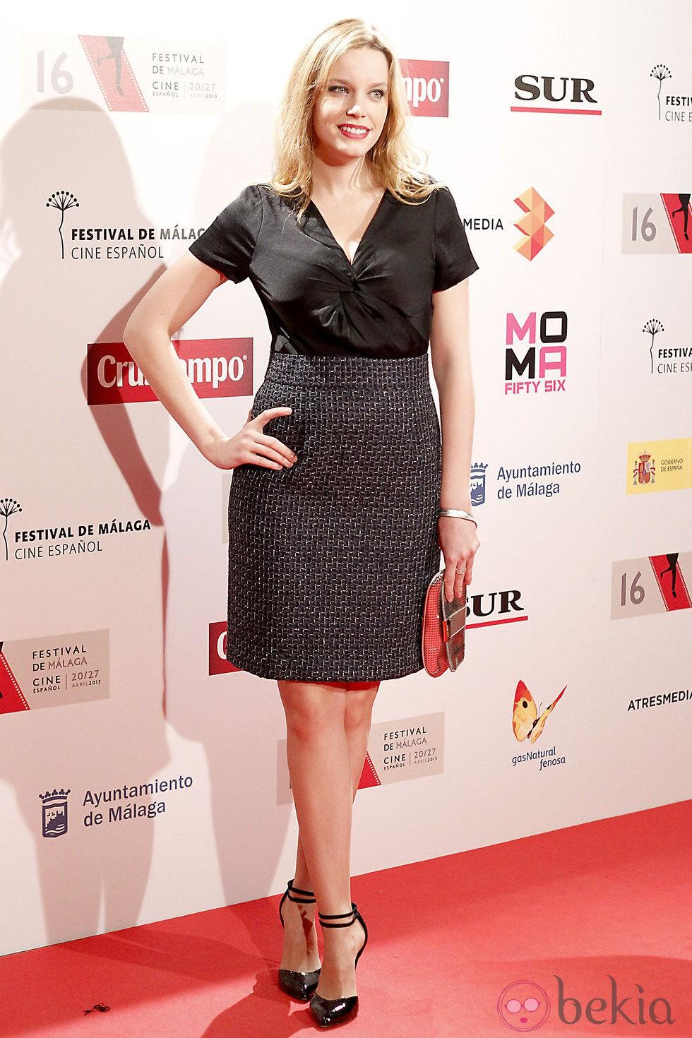 Carolina Bang en la presentación del Festival de Málaga 2013