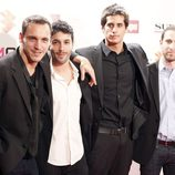 Ricard Sales, Jonas Beramí y Álex Maruny en la presentación del Festival de Málaga 2013