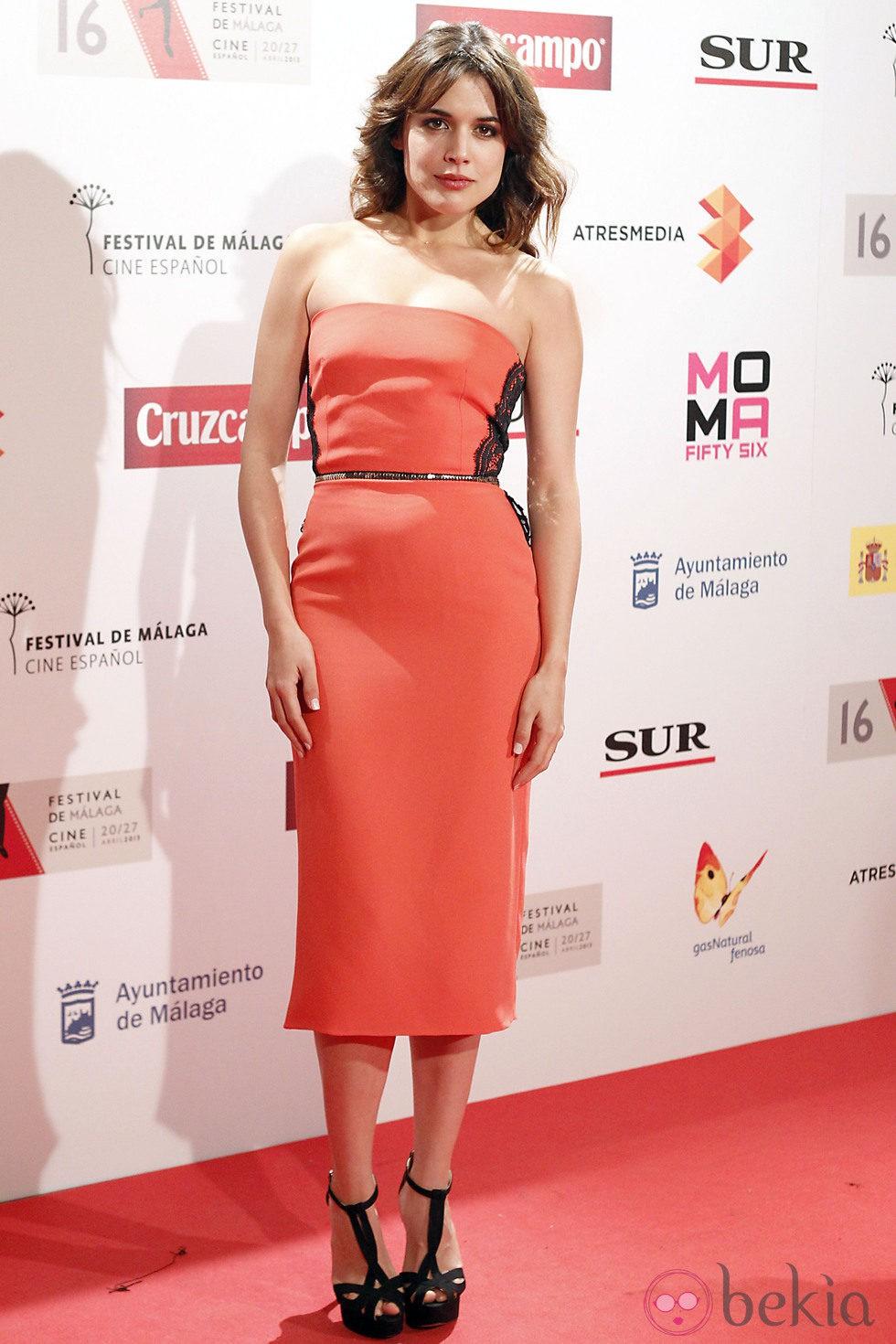 Adriana Ugarte en la presentación del Festival de Málaga 2013