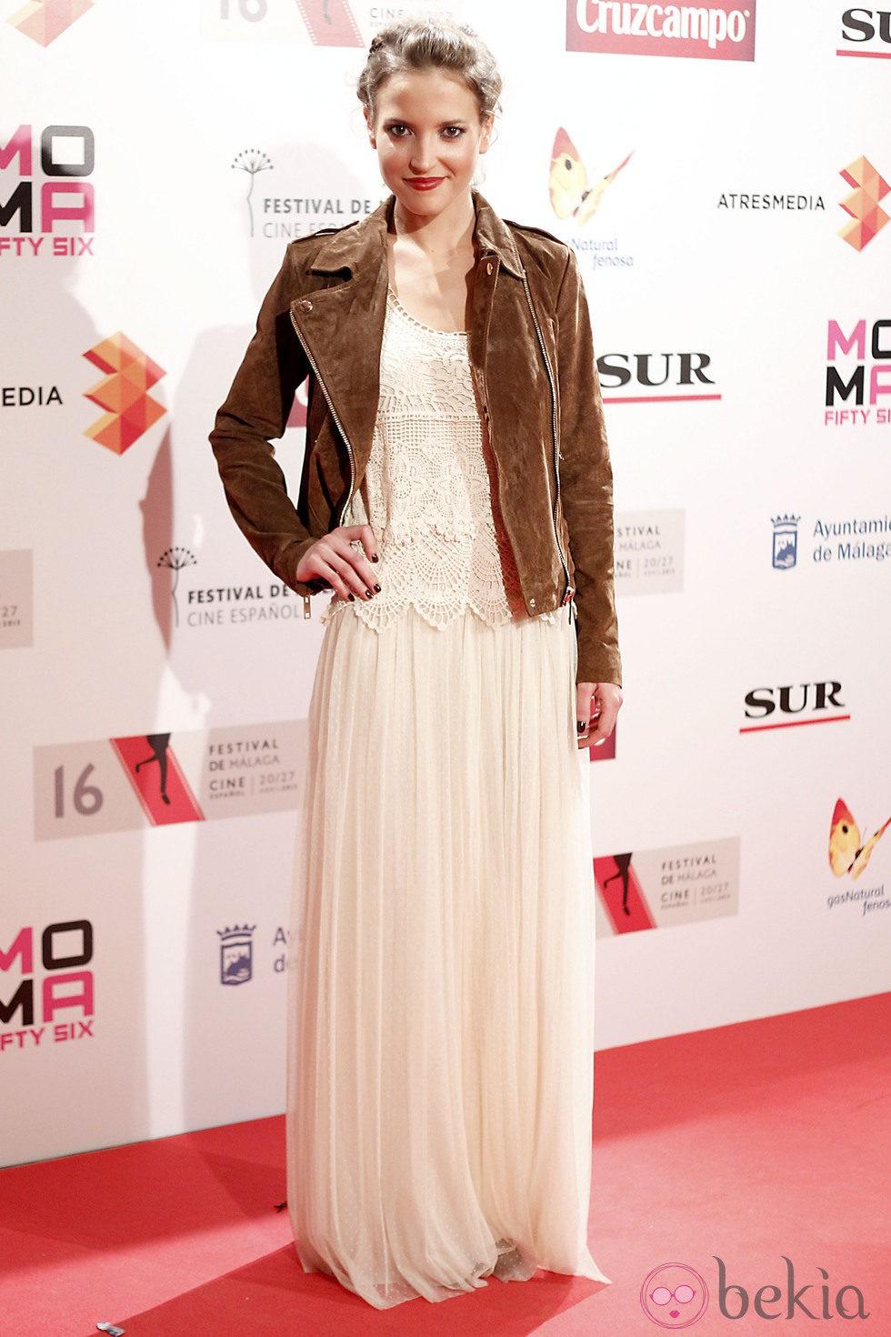 Ana Fernández en la presentación del Festival de Málaga 2013